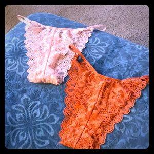 Victoria secret Brazilian lace